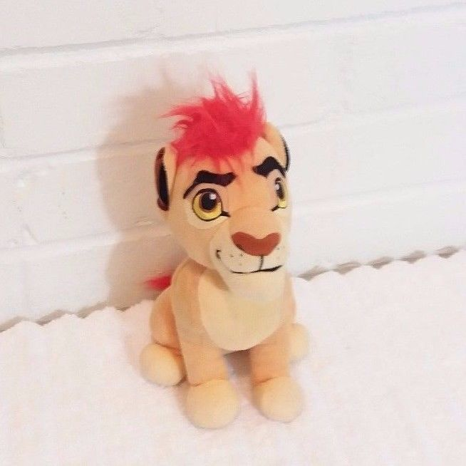 Disney Jr The Lion Guard Kion Stuffed Animal Plush Toy                      (A2) #Disney