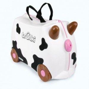 Valise enfant à roulette Vache Frieda de Trunki