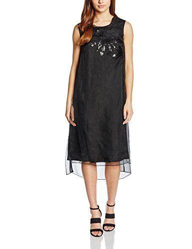 Almost Famous Damen Kleid Sheer Silk Party Dress