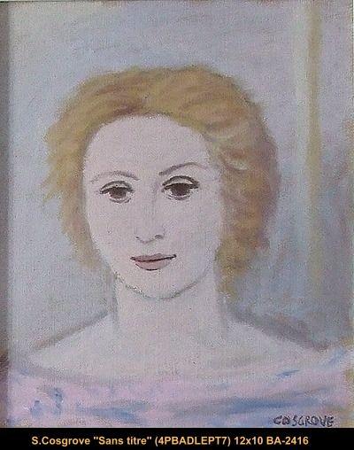 Original oil painting on canvas by Stanley Cosgrove  #cosgrove #art #artist #canadianartist #quebecartist #portrait #originalpainting #balcondart #multiartltee
