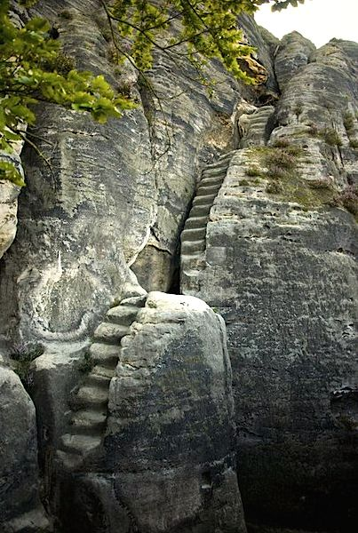 Mysterious Stairway