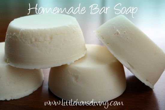 "Hanmade hand soap  						_gaq.push(['_trackEvent','SocialSharing','Facebook - like button',unescape(String(response).replace(/\+/g, "" ""))]);  					});  				    Homemade Hand Soap - Little House on the Prairie Living"