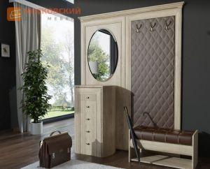 Мини-прихожая, классическая прихожая, светлая мебель в прихожую, прихожая экокожа