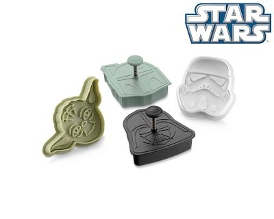 Williams-SonomaDarth Vader, Holiday Gift, Boba Fett, Star Wars, Stars Wars, Cookies Cutters, Cookie Cutters, Wars Cookies, Starwars