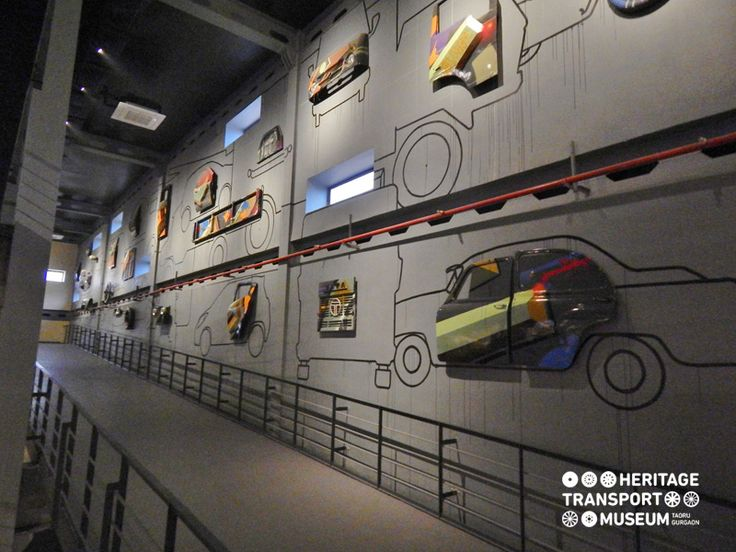 Wall arts have their own charm! This is how the museum prefers to decorate its walls!