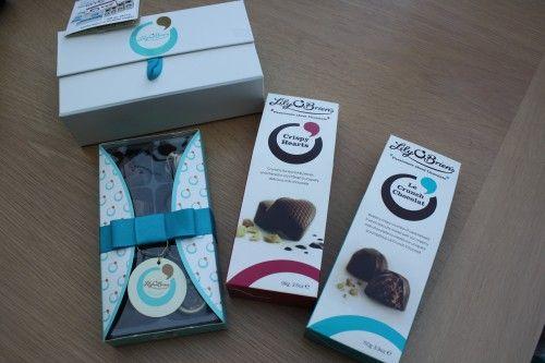 Food: chocolatey treats ~ Lily O'Brien's