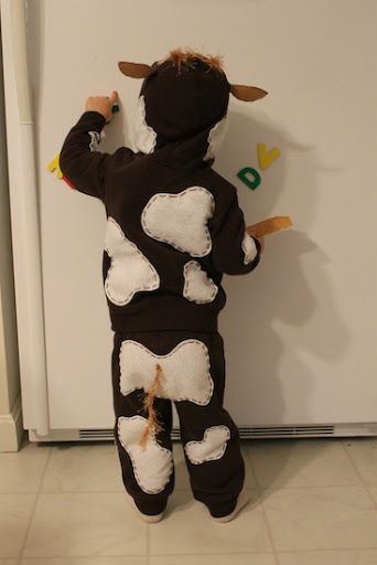 toddler brown cow cosutme