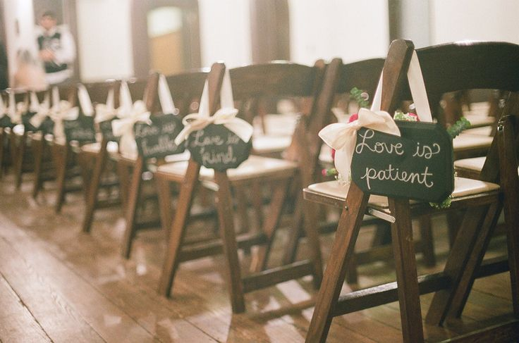 Love Is Patient Signs For Wedding Aisle By Cattiescorner