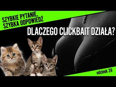 Czy te kociaki bawią się pośród wielkich piersi? - czyli dlaczego działa na nas CLICKBAIT? - YouTube