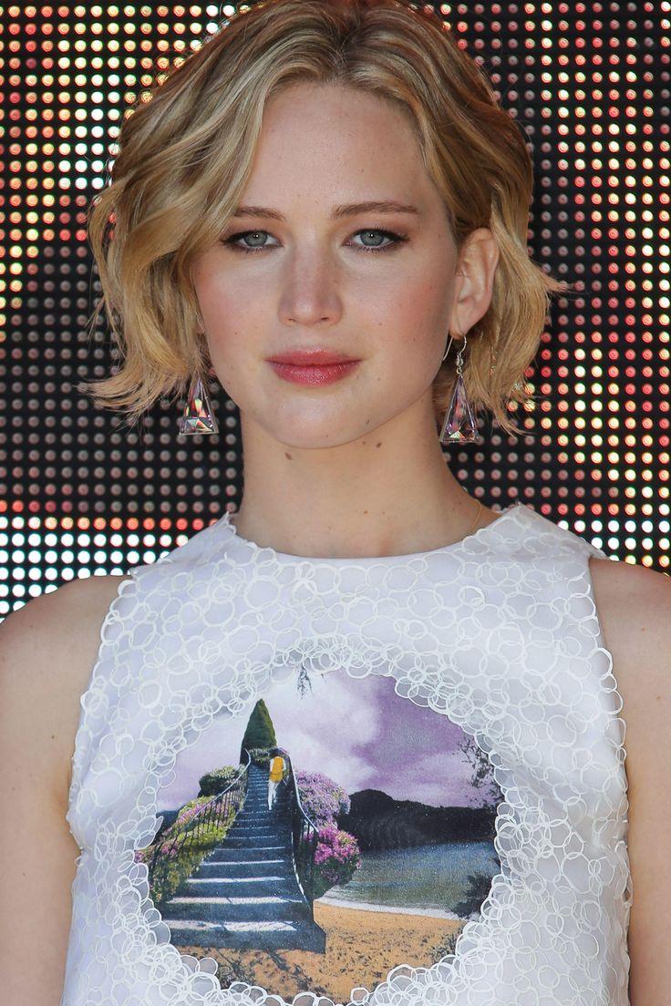 Jennifer Lawrence bob hairstyle