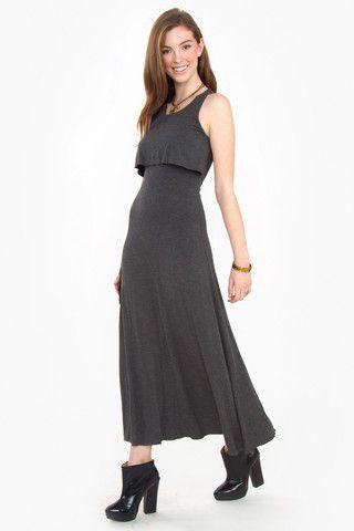 Twist of Faith Maxi Dress