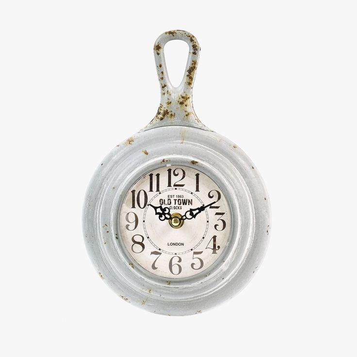 Relógio de Parede Grand Central London Cinza | referência 107867892 | A Loja do Gato Preto | #alojadogatopreto | #shoponline
