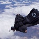 Bad Ass In a Wingsuit... and fresh off of a near death experience.