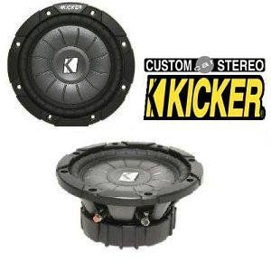 """Kicker Car Subwoofer 6-1/2"""" Single 1-OHM Shallow-Mount Comp VT Series CVT651-10CVT651 (10C124/iK501/CA-3602/AM1052/SA-W3000 /Kicker 6.5"""") by Kicker. $69.95. Raising the Competition with Kicker's CompVT Series Kicker is a very well known company within the car audio industry and are constantly striving to be the best in innovation, quality, and power output. Their 2010 shallow mount CompVT series subwoofer accomplish all of those qualities and more.This series of sub..."""