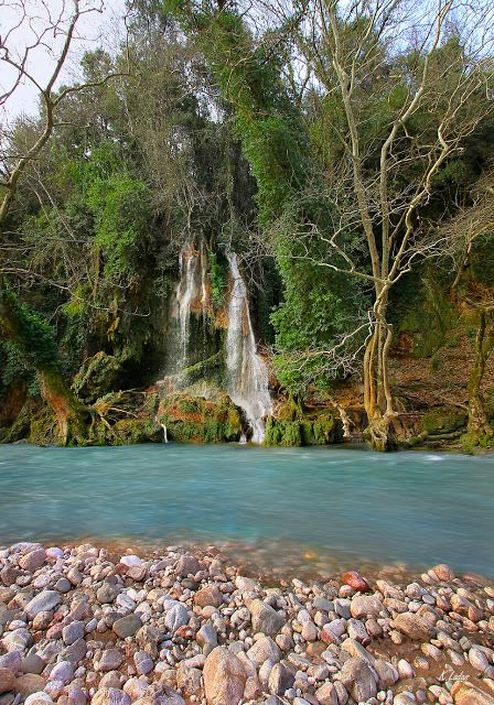 Nemouta waterfals at Erymanthos canyon, Peloponnese (photo by Kostas Ladas)