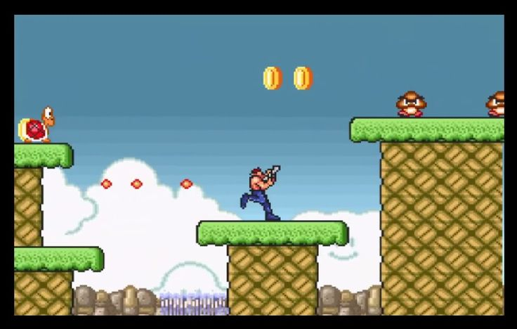 The day has finally come. Super Mario Bros. Crossover 2.0 is now playable. Continues the great idea of combining all sorts of NES characters into one flash game. Now, you can play the game with different character, like Mario, Luigi, Link, Samus, Simon, Bill, Bass, Ryu, Megaman, or Sophia III. Choose your character and enjoy!