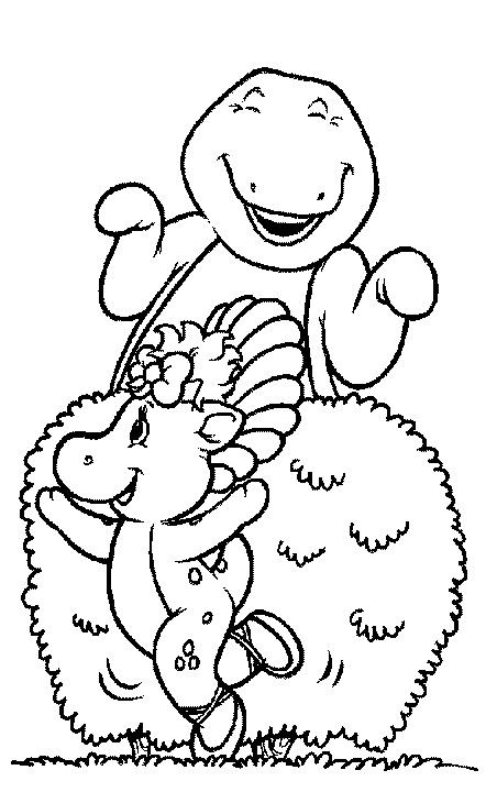 Mejores 114 imágenes de Barney Coloring Pages en Pinterest | Hojas ...
