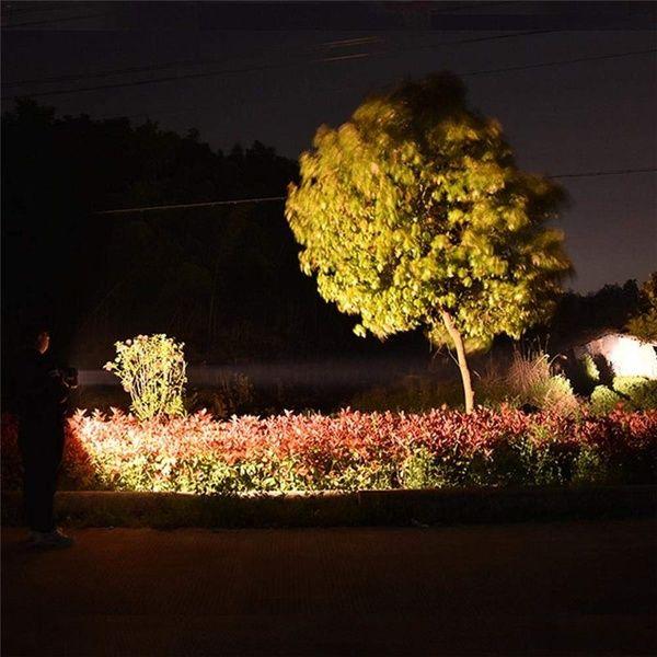Useful Super Bright Waterproof Outdoor LED Flashlight Bulb Lamp Torch Light