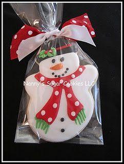 Love this snowman.