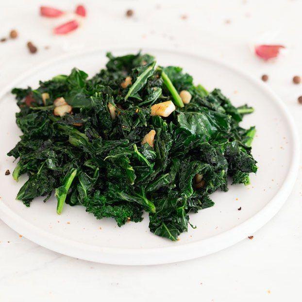 Kale Salteado Una Forma Muy Sencilla Y Sabrosa De Cocinar El Kale