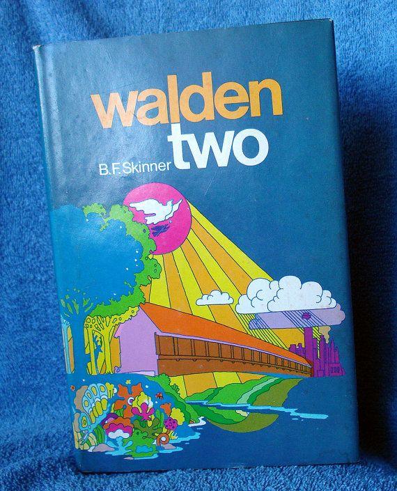 Walden Two BF Skinner  McMillan Book Club by GyanarthiBookAnnex
