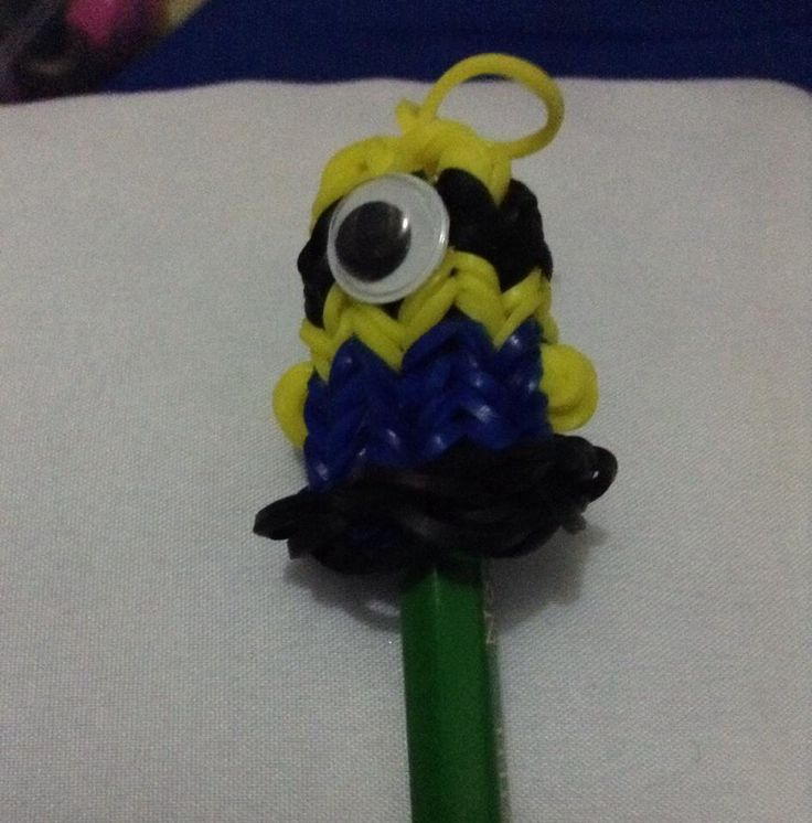 Minion pencil topper