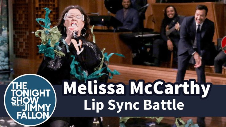 Jimmy Fallon & Melissa McCarthy Face Off in a Hilarious Lip Sync Battle on The Tonight Show