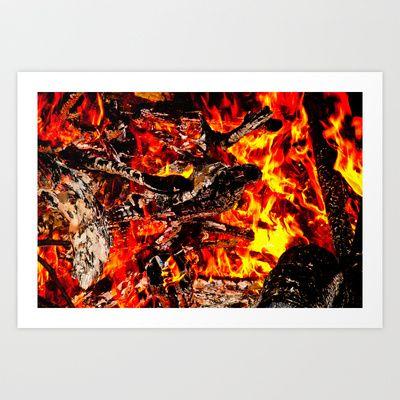 Fire! Art Print by Tim Eisenhauer - $17.68