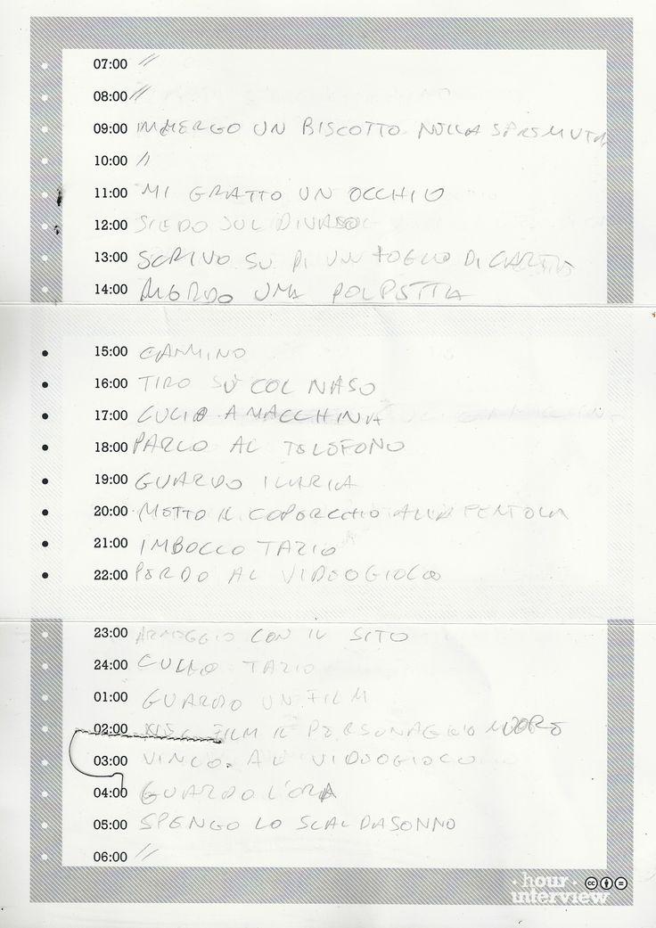 #MarcoBernardi #Form, retro  21/02/2013 Filling in time.