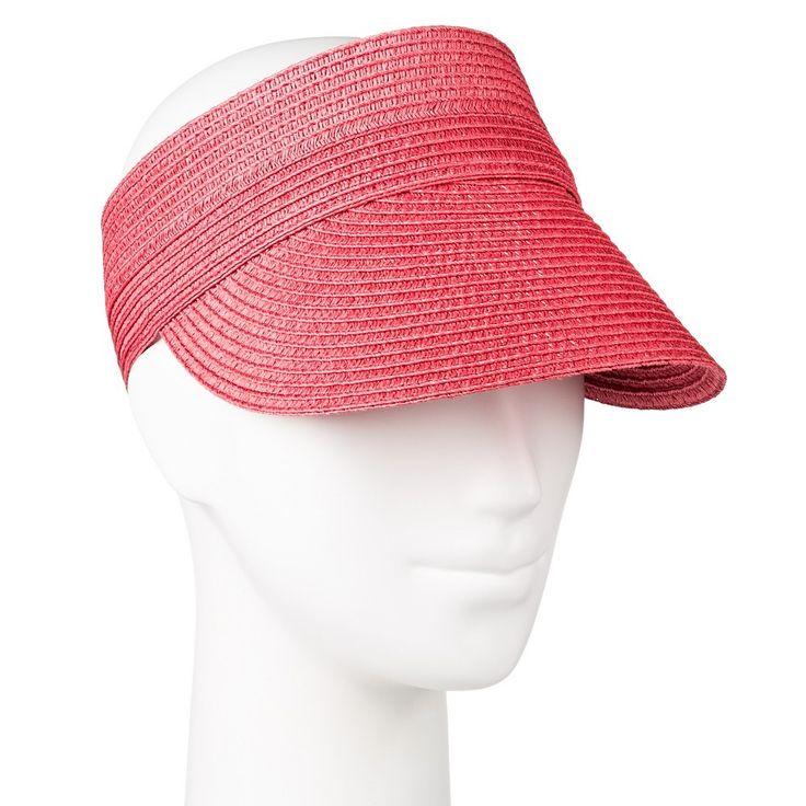 Women's Visor Hat - Merona, Pink