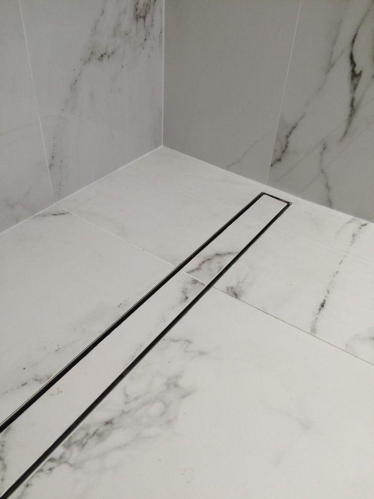 Bathroom Linear Shower Drain Tile Insert Floor Drain Channel / Stainless Steel   eBay
