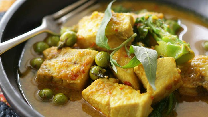 Thai Yellow Curry With Fish Recipes — Dishmaps