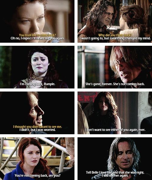 Rumple and Belle! <3 they just keep coming back!