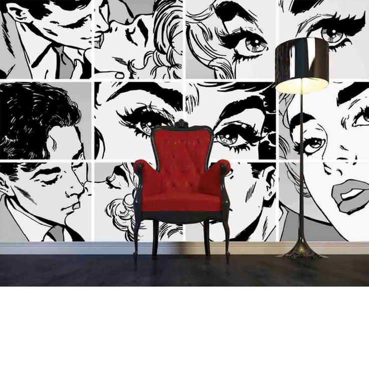 So, if you are redecorating your apartment and want to add unique and highly energized decor, then you should try with the pop art interior design.  Today, we prepared for you a collection of Fabulous Collection Of Pop Art Interior That Will Catch Your Eye.