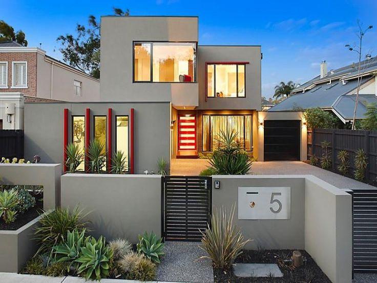 photo of a house exterior design from a real australian house house facade photo 7518677 - Real Home Design