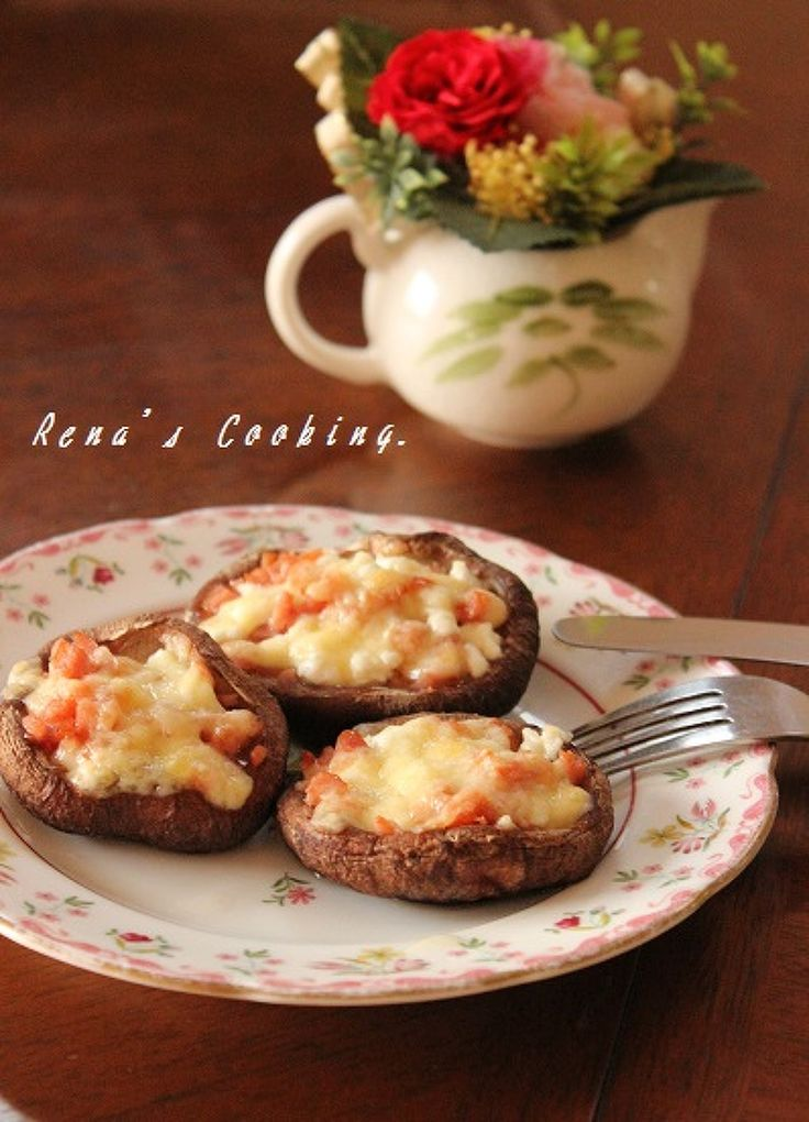 ウィンナーと2種のチーズ入り焼きしいたけ by レナ♪ | レシピサイト「Nadia | ナディア」プロの料理を無料で検索