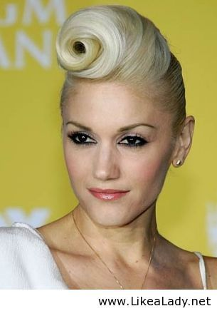 Pin Up Hairstyle
