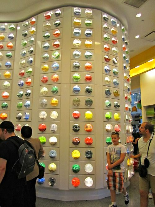 The Lego Store in Manhattan. Great Lego displays and all the Legos you could want! Located in the beautiful Rockefeller Center in New York City.