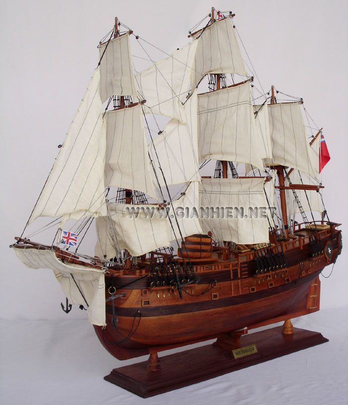 The success of the bark endeavor voyage under the command of james cook