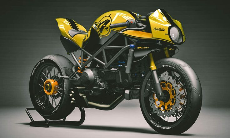 Ducati Monster 1200s by Kbike of Italy.