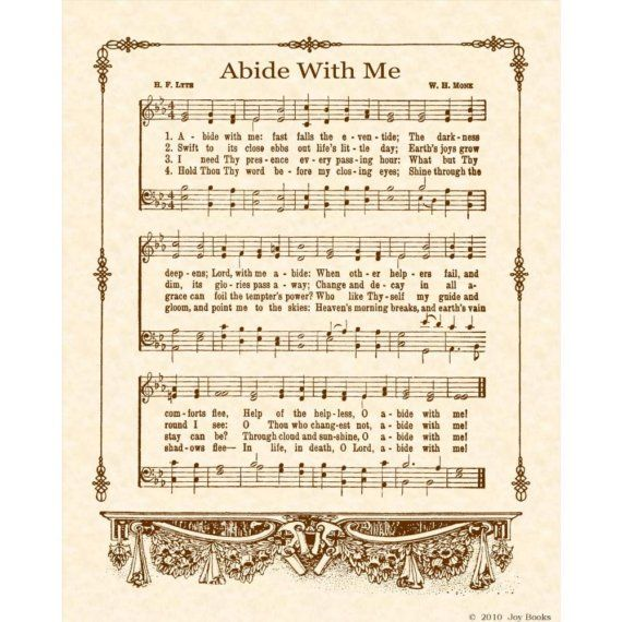 Abide With Me - love this hymn so much
