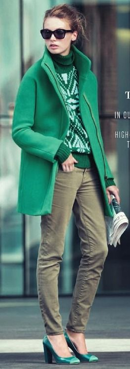 My color--it is the color of the year! yay. Lots of green for my wardrobe--and house! J.Crew