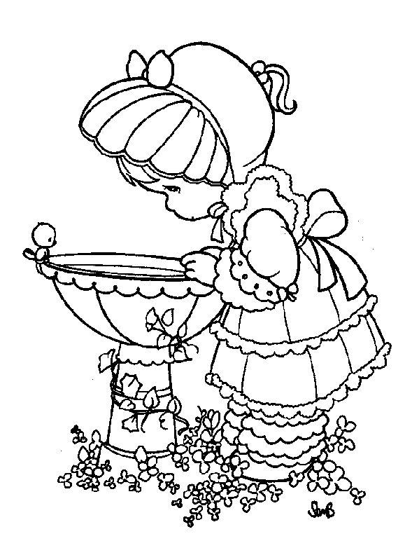 moments coloring pages with the title precious moments coloring pages
