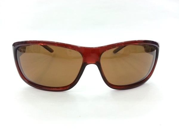 Vintage Polarized Musk Brown Sheet Sunglasses