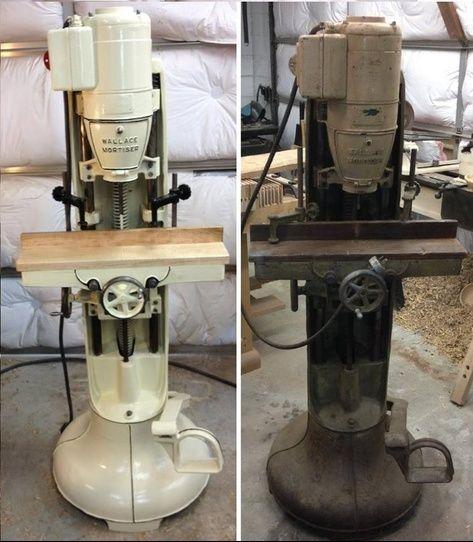 Elegant Vintage Band Saw Restoration  Machined Parts Services