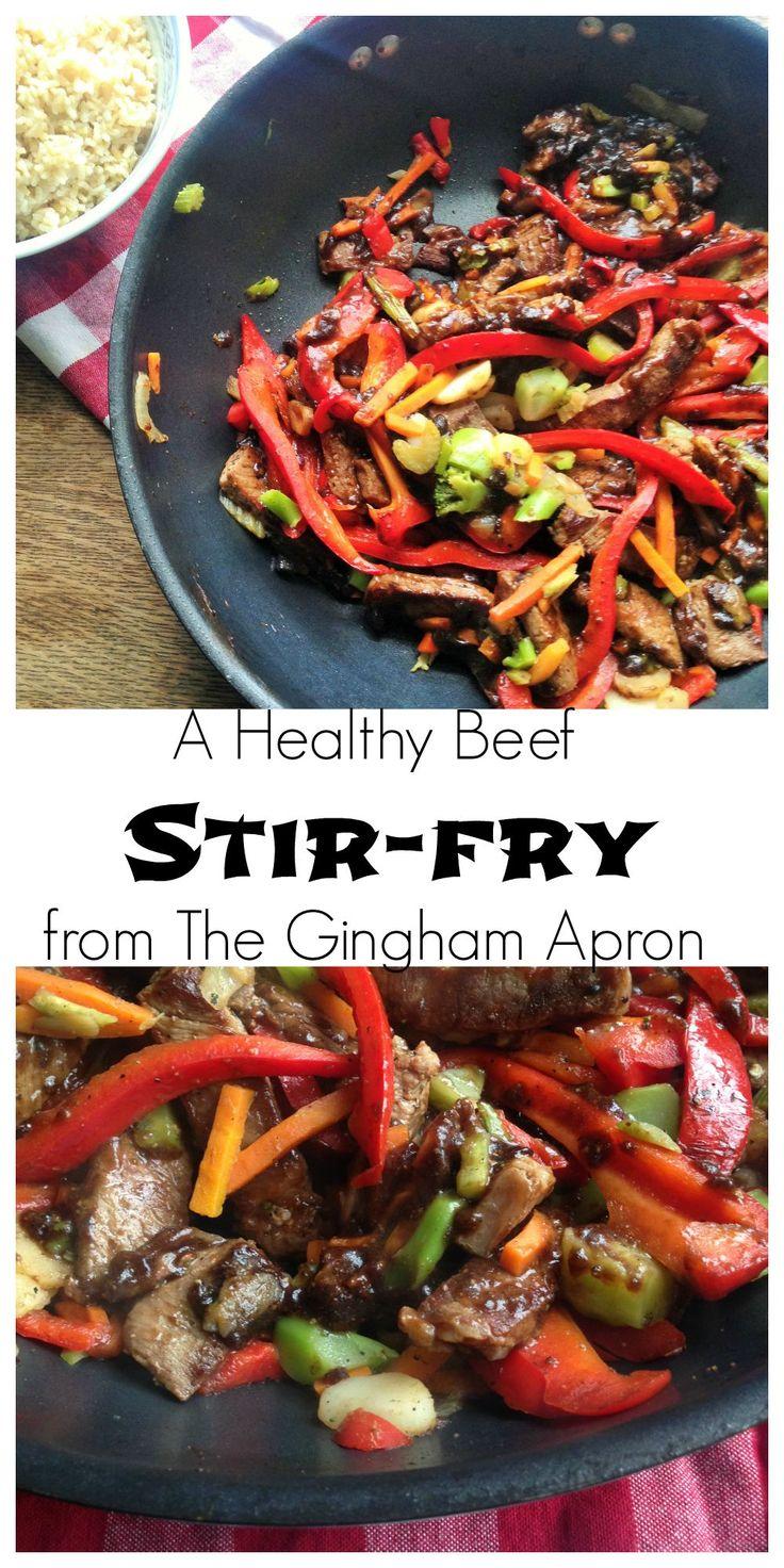 No sugar and no hidden carbs! This stir-fry is healthy and super delicious. (A Trim Healthy Mama S recipe) PERXFOOD.COM