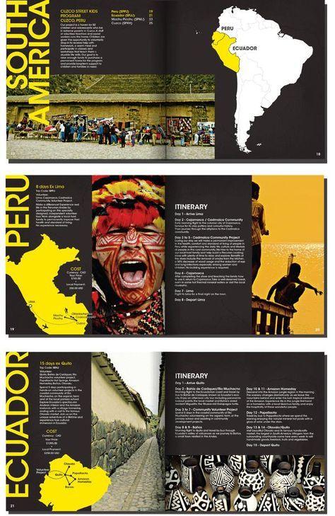 Best Travel Brochure Design Images On   Brochures