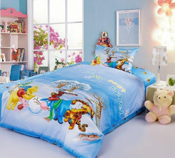 Winnie The Pooh Snow Bedding Set