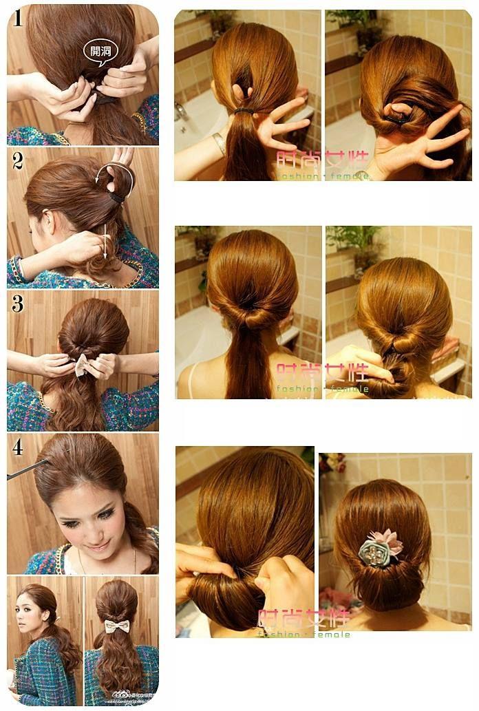 красивые причёски для длинных волос своими руками фото поэтапно   Идеи причесок Фото + видео