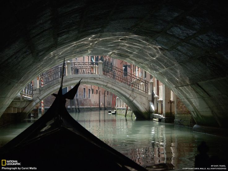 National Geographic- Venice Canal by Carol Walls